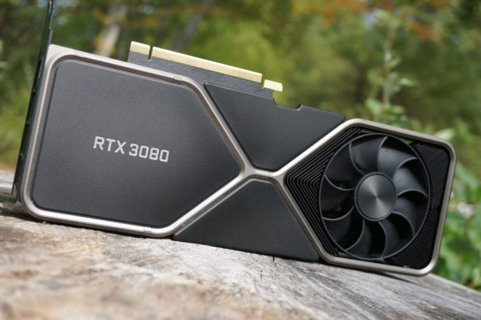 Steam survey reveals Nvidia's GeForce RTX 3080 in the wild