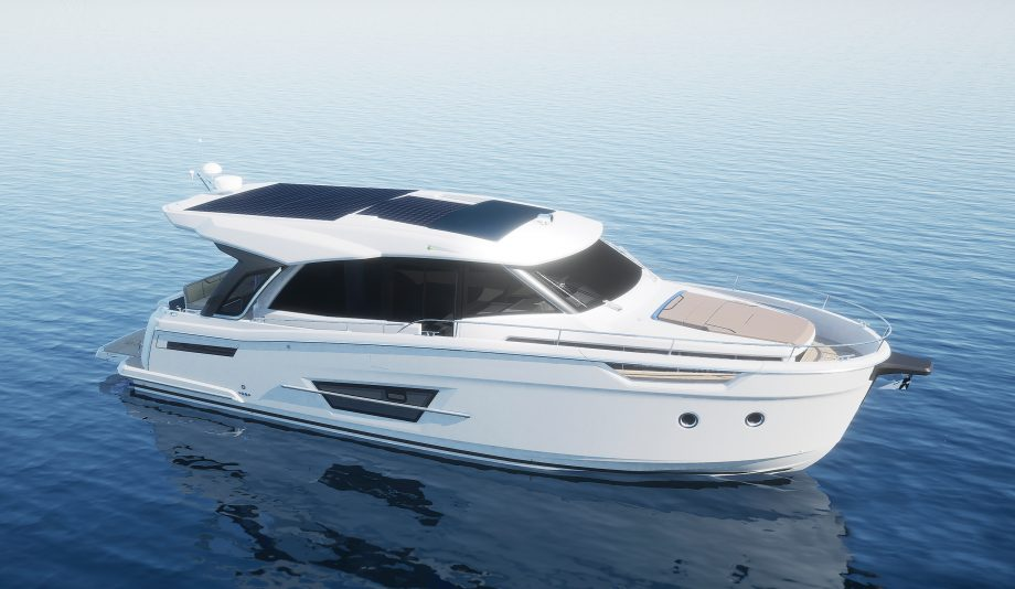 Greenline 45 Coupe first look: Handsome cruiser gets more room for solar panels