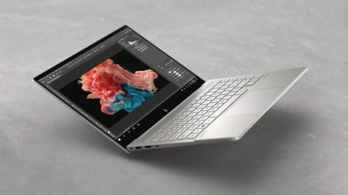 2021 HP Envy 14 – mid-tier ultrabook with 16:10 screen and GTX 1650Ti graphics