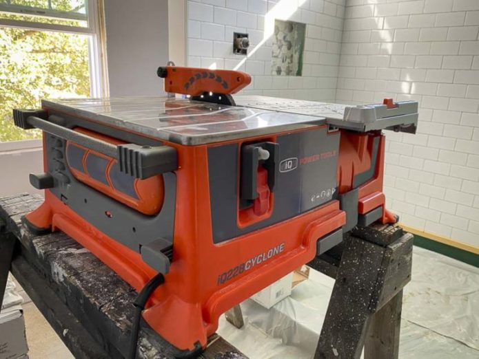 iQ Power Tools iQ228 Cyclone 7-inch Dry-Cut Tile Saw