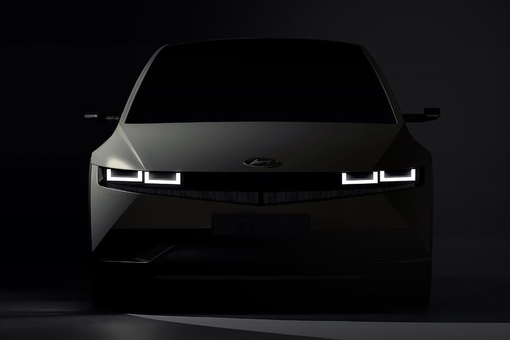 Hyundai's IONIQ 5 teased