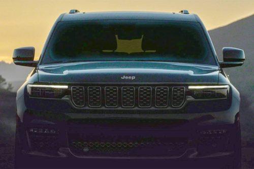 New Jeep Grand Cherokee exposed