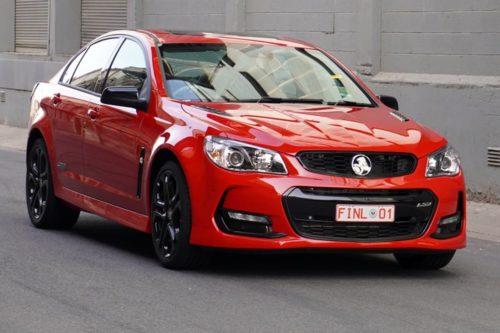 Final Aussie Holden Commodore goes to auction