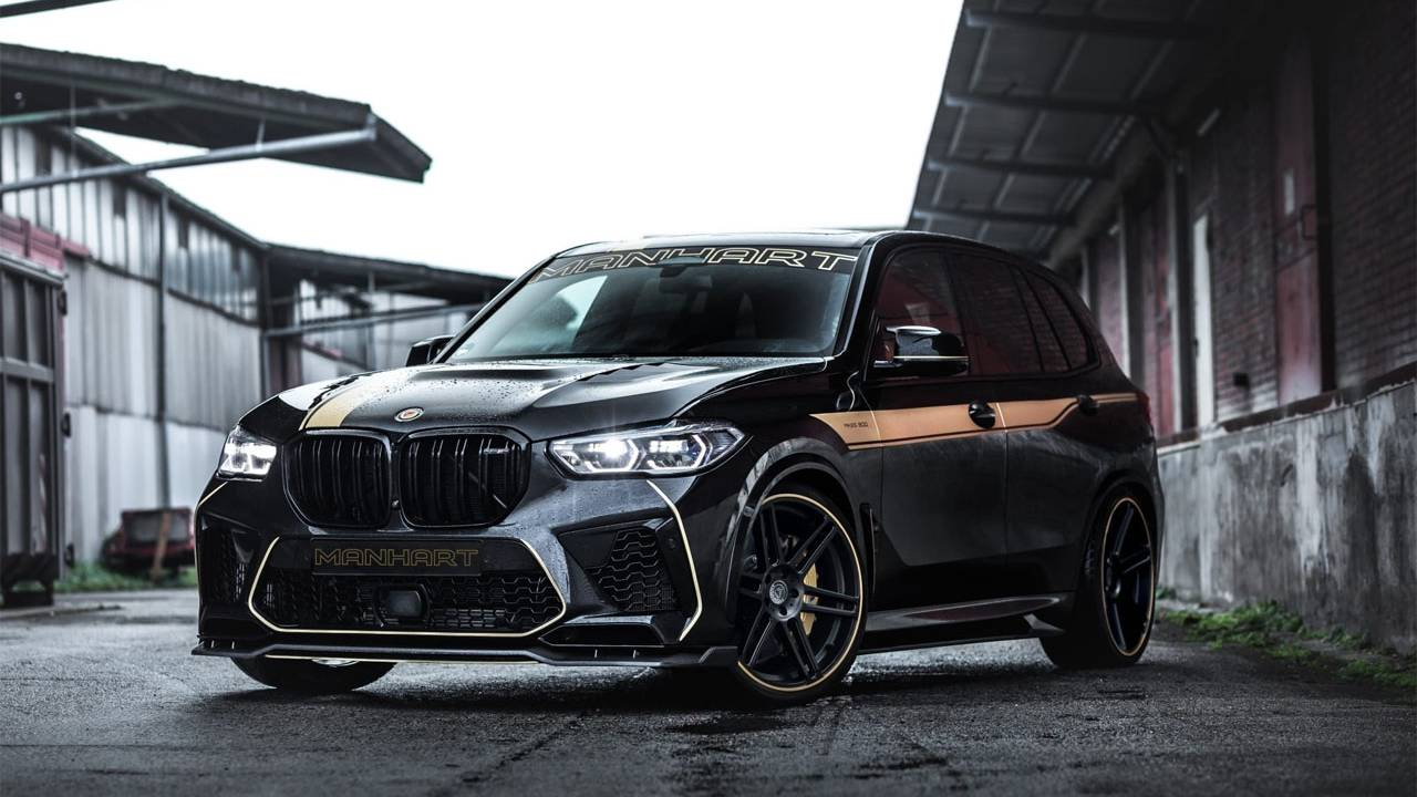 Manhart MHX5 800 is a BMW X5 on steroids