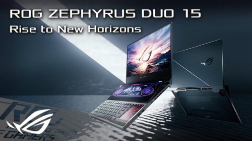 [Specs, Info, and Prices] ASUS ROG Zephyrus Duo 15 – AMD CPUs only, and RTX 30-series GPUs