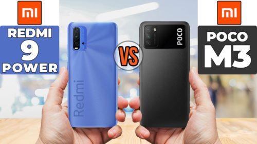 Poco M3 vs Redmi 9 Power