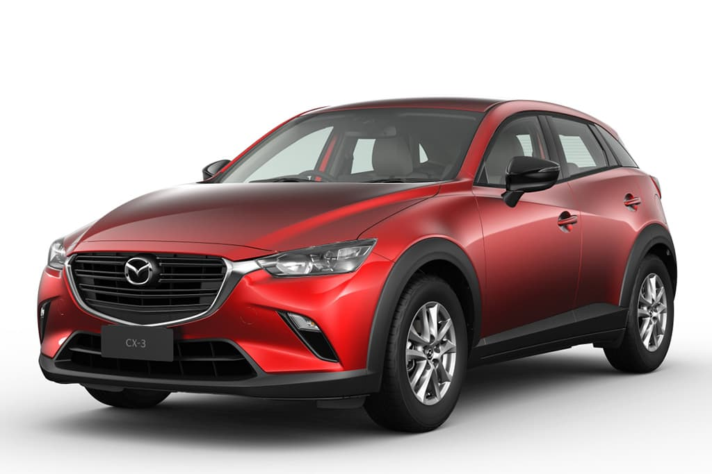Mazda CX-3 boosted with tech upgrade