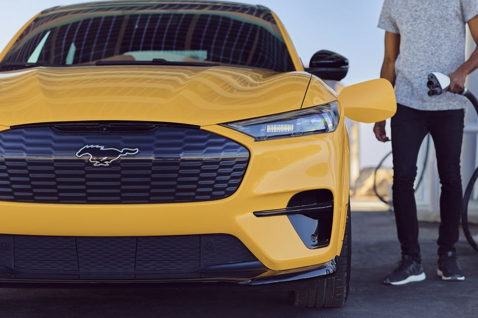 The Ford Mustang Could Go All-Electric This Decade, Report Claims