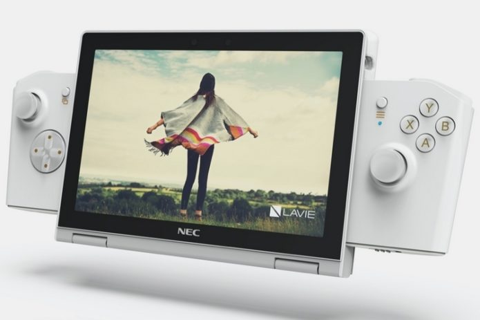 NEC Lavie Mini Is An 8-Inch Windows Laptop, Tablet, And Switch-Like Handheld Console