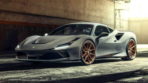 Ferrari F8 Tributo By Novitec Gets Visual Upgrades, More Power