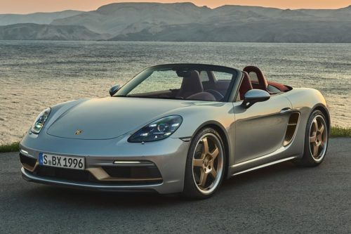 Porsche Boxster 25 Years released