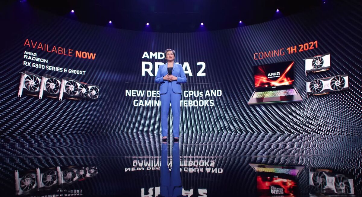 New Radeon GPUs were barely seen at CES, but they cast a long shadow