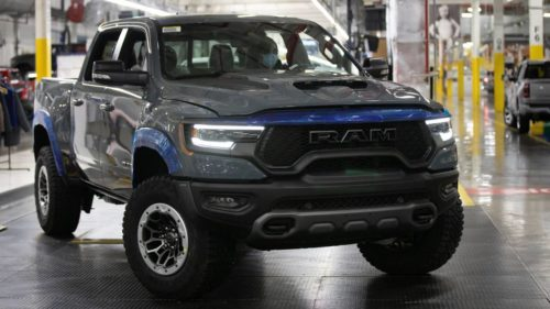 2021 Ram 1500 TRX Launch Edition VIN 001 to be auctioned for charity