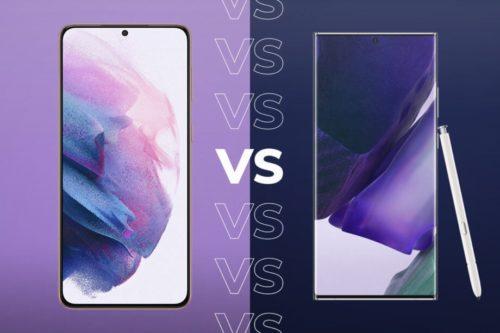 Samsung Galaxy S21 Ultra vs Galaxy Note 20 Ultra: The winner is clear