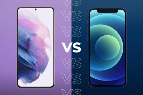 Samsung Galaxy S21 vs iPhone 12: Comparing the big specs