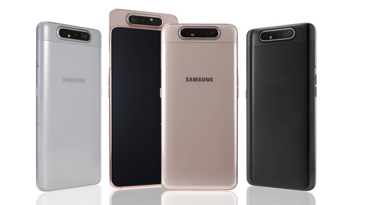 Galaxy A82 5G might bring back the flipping slide-out camera