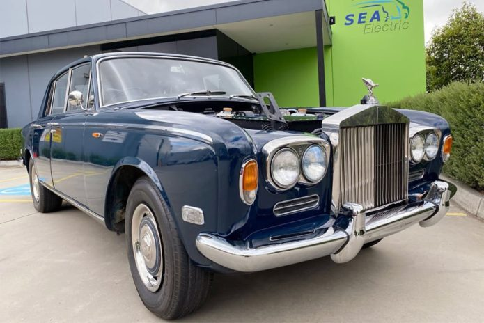 Aussie EV firm reveals Rolls-Royce restomod