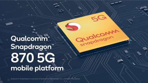 Qualcomm's Snapdragon 870 is a faster 865, but without WiFi 6E