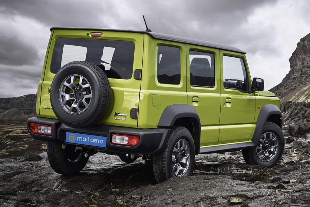 Suzuki Jimny five-door reportedly coming this year