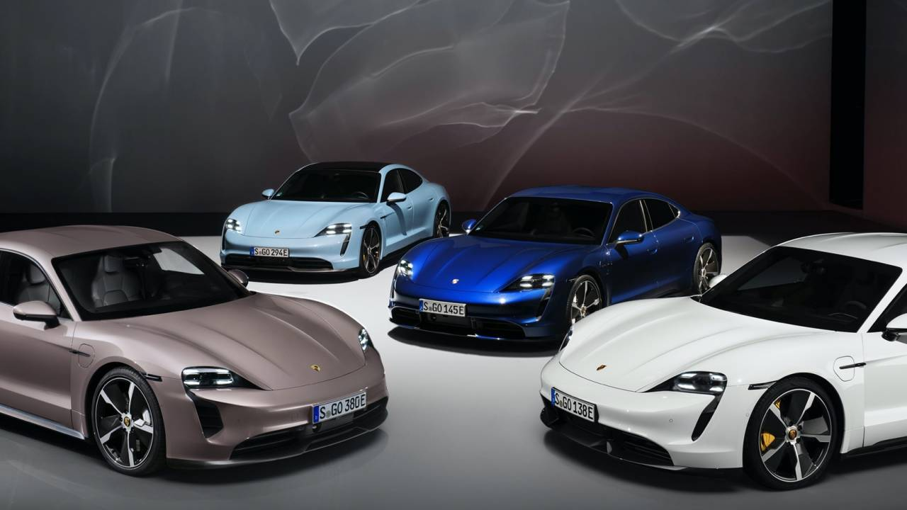 Porsche's tease of 2021 Taycan good news is coming true