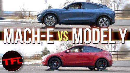 Is The Ford Mustang Mach-E's AWD System Better Than Tesla Model Y's?