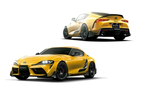 Toyota previews wilder Supra and GR Yaris