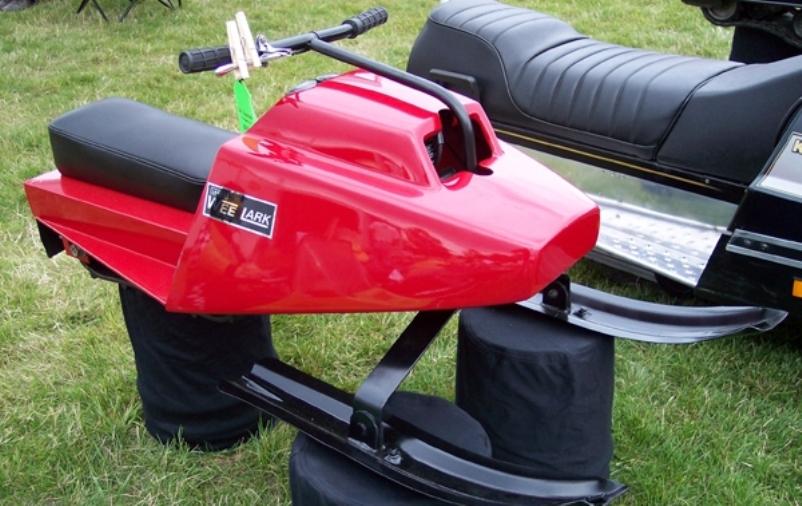 Ski-Lark and Wee-Lark: Simple Snowmobiles