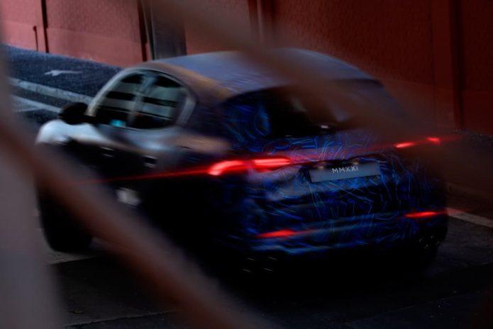 Smaller Maserati SUV teased again