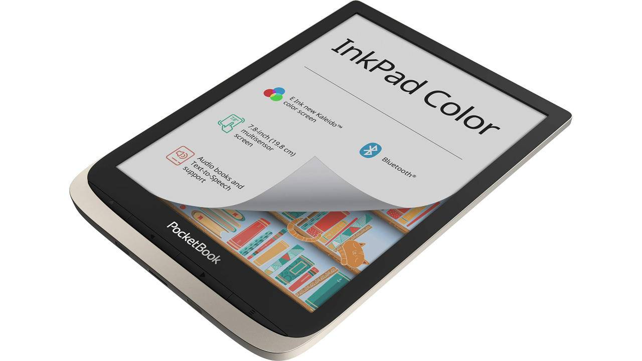 PocketBook InkPad Color 7.8-inch eReader is now available