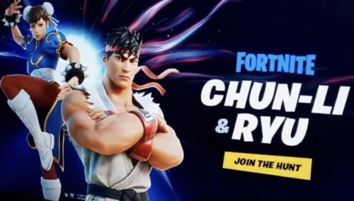 Street Fighter could collide with Fortnite in the next crossover event