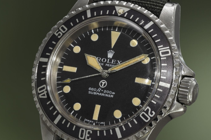 The Only Watch Cooler Than the Rolex Submariner Is the Military-Issued 'MilSub'