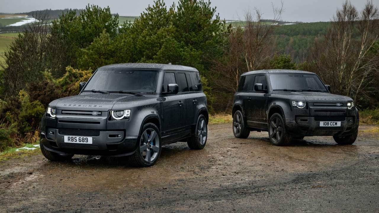 2022 Land Rover Defender V8 brings 518hp to SUV icon