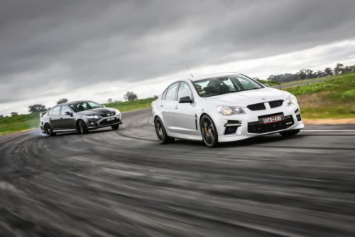 V8 Holden and Ford prices soar