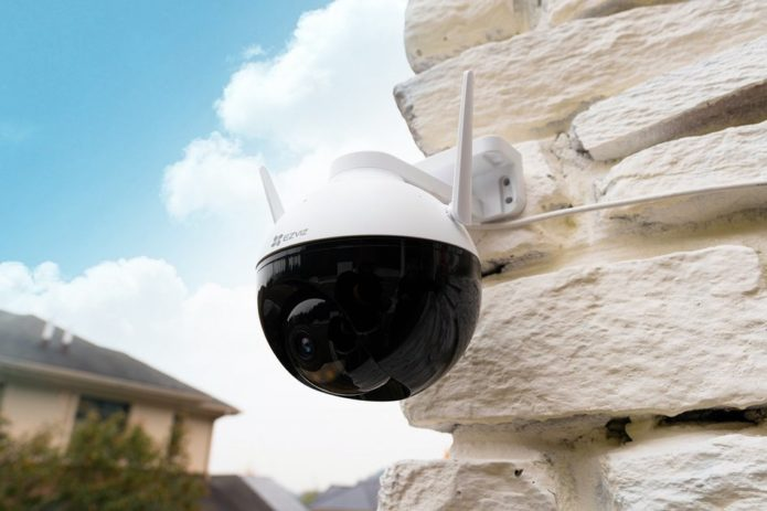 EZVIZ's new C8C camera is a perfect outdoor smart home addition for 360 coverage