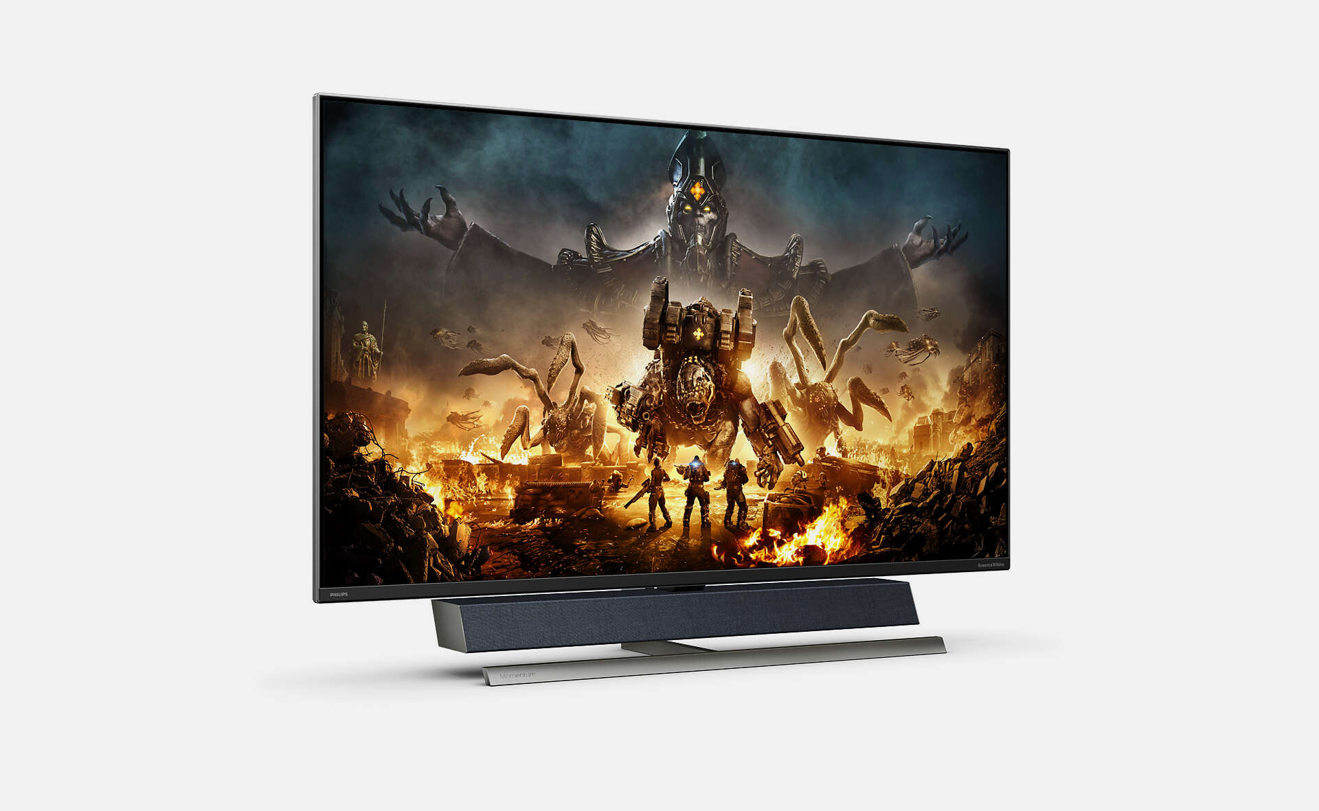 Philips Momentum 559M1RYVL: A 55-inch gaming monitor that supports 144 Hz, HDMI 2.1, USB Type-C Power Delivery, AMD FreeSync and NVIDIA G-Sync