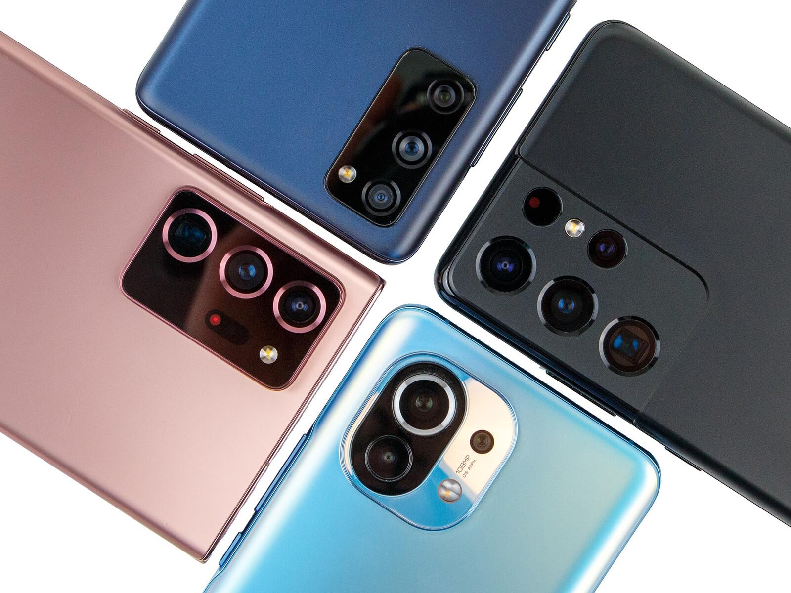 Camera comparison: Xiaomi Mi 11 vs Samsung's Allstars