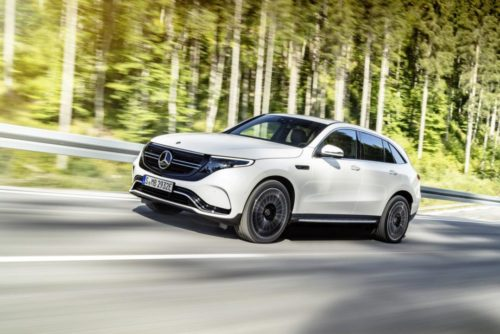 Mercedes-Benz EQC SUV will not make U.S. debut, EQS to arrive first