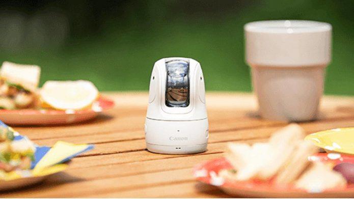 Canon PowerShot PICK robot uses AI to automatically take photos