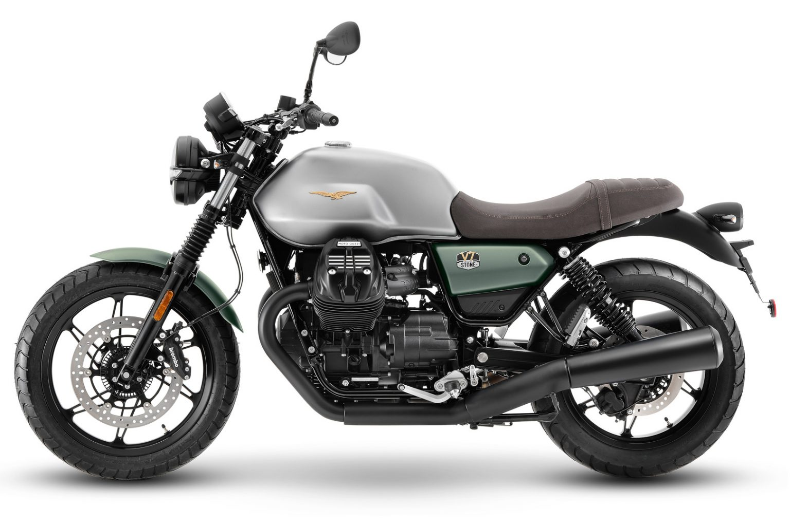 2021 Moto Guzzi V7 Stone 100th Anniversary First Look