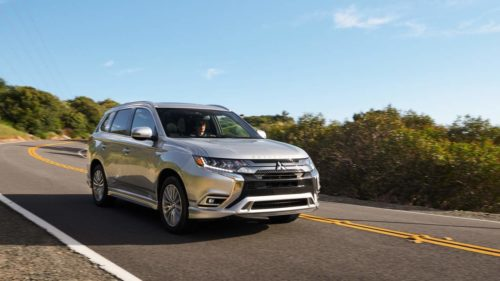 2021 Mitsubishi Outlander PHEV has more range, more power, and a lower base price