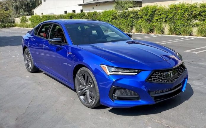 2021 Acura TLX A-Spec SH-AWD review