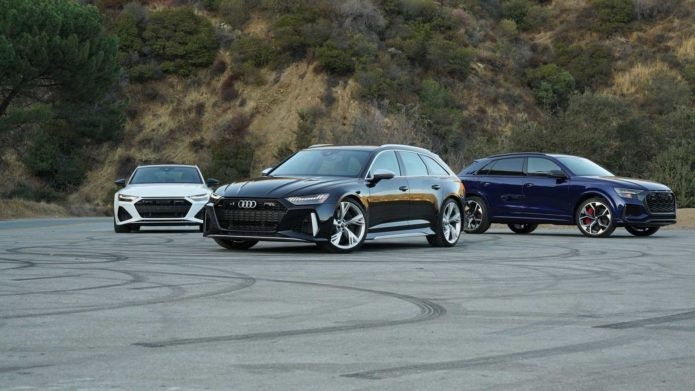 2021 Audi RS6 Avant Vs RS7 Vs RS Q8 Comparison: Family Values