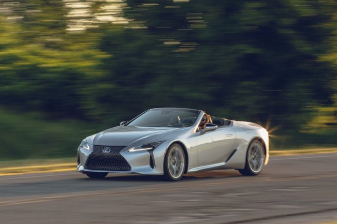 Tested: 2021 Lexus LC500 Convertible Puts a Price Tag on Maturity