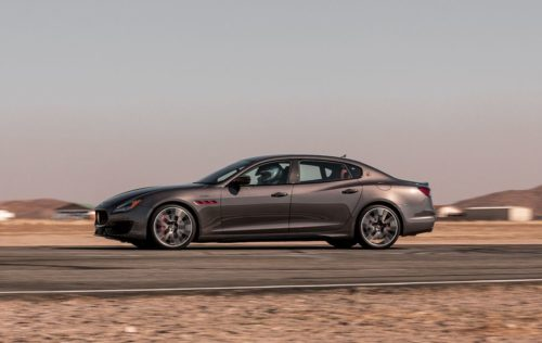 2021 Maserati Quattroporte Trofeo Needs to Be Weirder