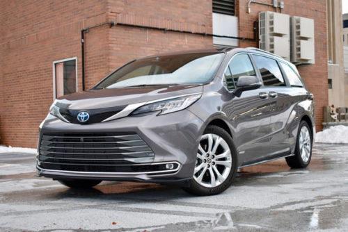 2021 Toyota Sienna Platinum review