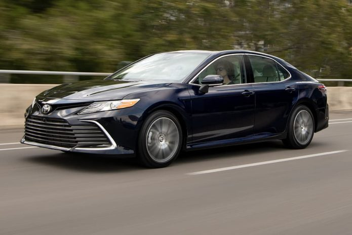 New Toyota Camry gets four-cylinder power only