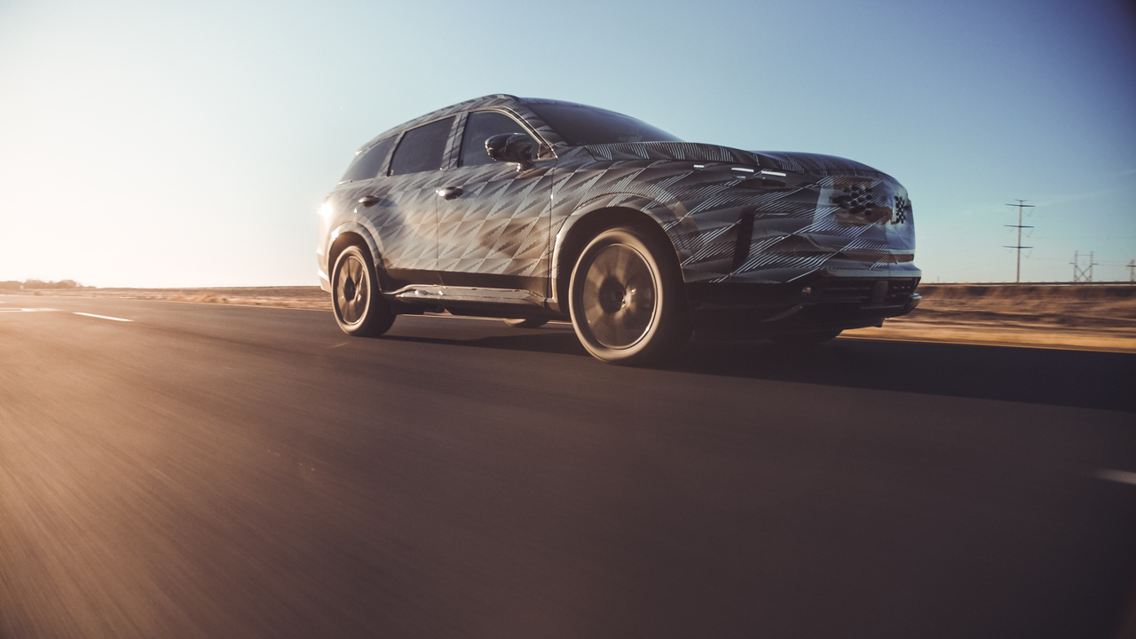 2022 Infiniti QX60 ditches the CVT for a new nine-speed auto gearbox