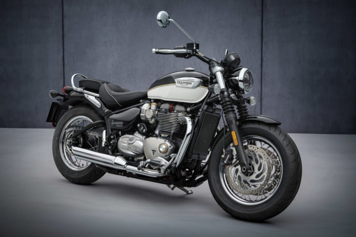 2022 Triumph Bonneville Speedmaster First Look: New Fork and More