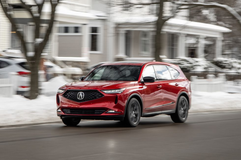 Tested: 2022 Acura MDX SH-AWD Is a Driver's Family Hauler