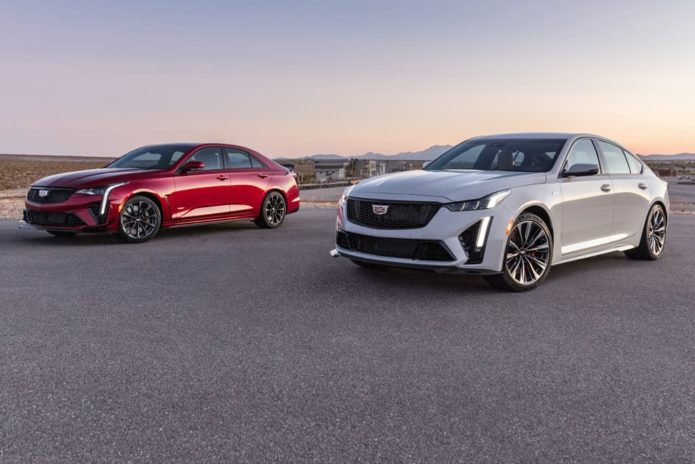 Cadillac CT4-V, CT5-V Blackwing revealed